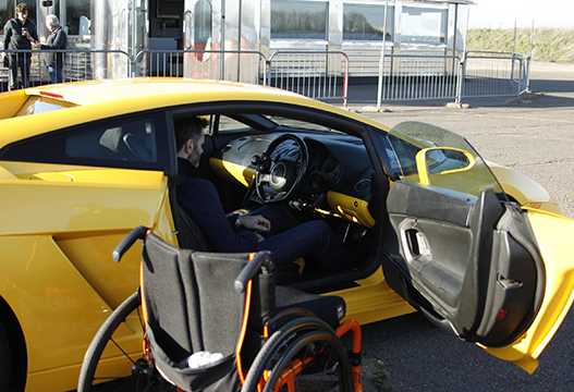 Wheel Chair Supercar